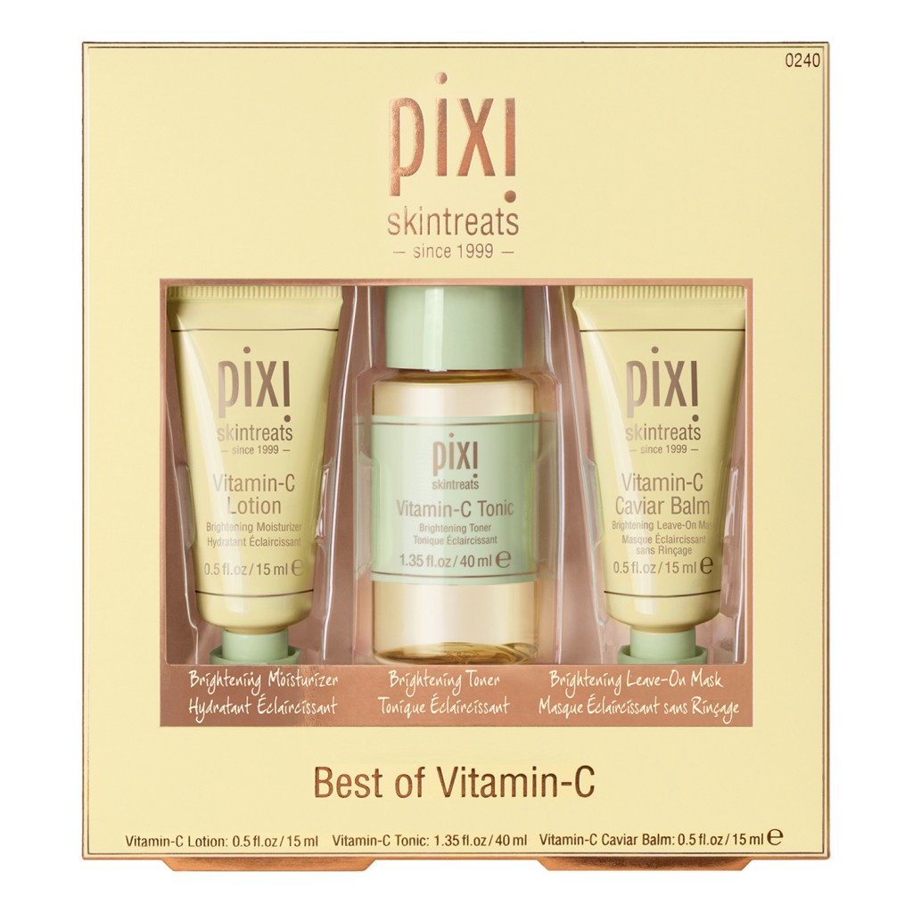 Pixi Best of Vitamin C 琵熹美白焕肤三件套!