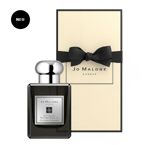 Jo Malone/祖马龙 黑瓶系列新品  Vetiver & Golden Vanilla 香根草和黄金香草