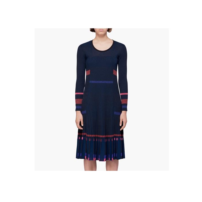 Kenzo女士针织连衣裙 海军蓝