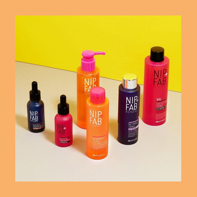 新生代护肤品中的佼佼者!英国NIP+FAB精选美妆护肤品