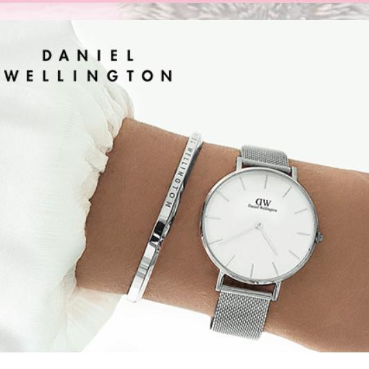 经典简约大气 Daniel Wellington百搭腕表