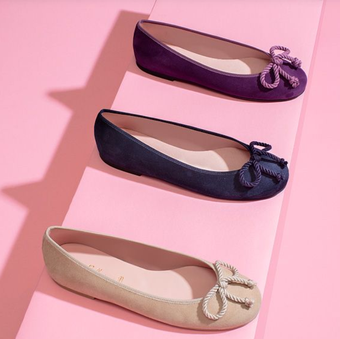 足尖轻盈 绽放优雅 芭蕾平底鞋开春收起来!