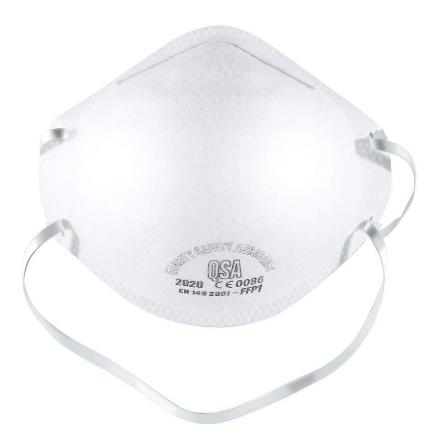 Mundschutz Maske ffp1级别防护口罩 5只装
