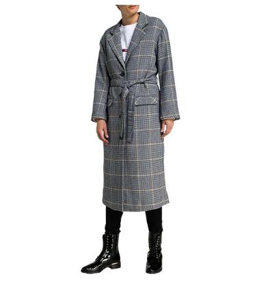 LEVI`S Wollmix-Mantel 李维斯格纹大衣