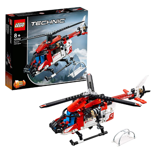 乐高LEGO Technic 42092机械组 2in1救援直升机
