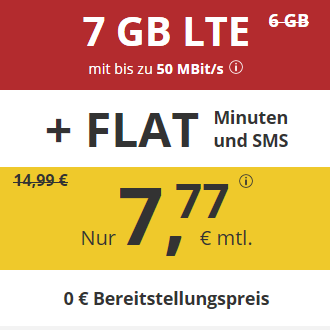 超划算手机卡套餐!德国通话短信免费+7GB高速LTE流量