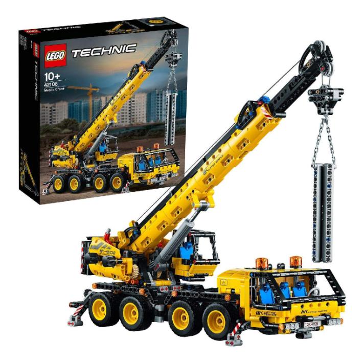 Lego乐高Technic系列起重机