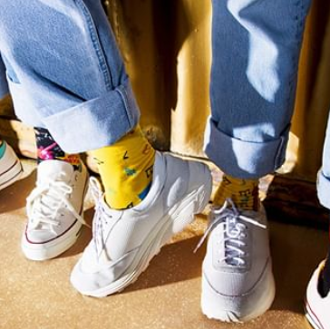 Happy socks 随时随地的脚部保暖都要做好!