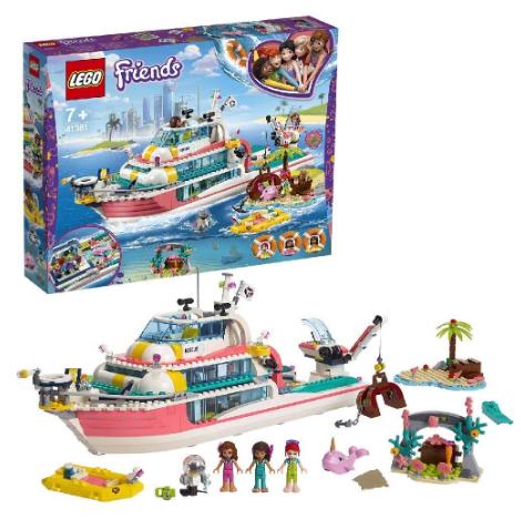 LEGO乐高 Friends系列 海上爱心救援船 41381