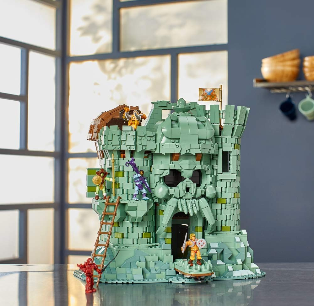 宇宙的巨人——希曼 童年回忆 骷髅城堡模型积木