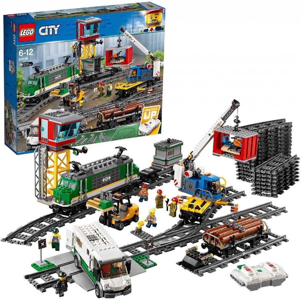 买给宝宝,宅在家里也不会没事做!Lego City系列 运货火车