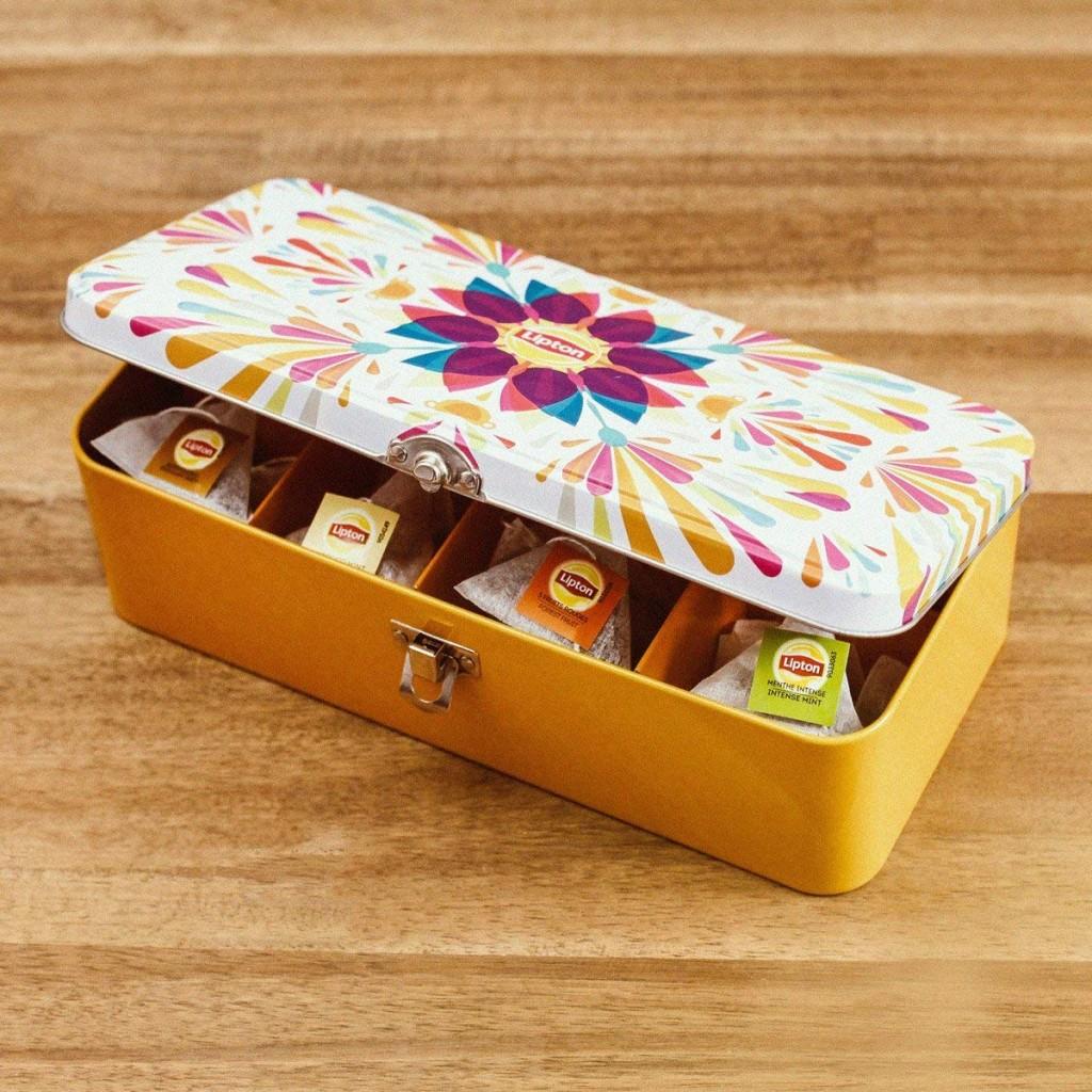 享受美味下午茶时间!Lipton 立顿茶包礼盒40包装