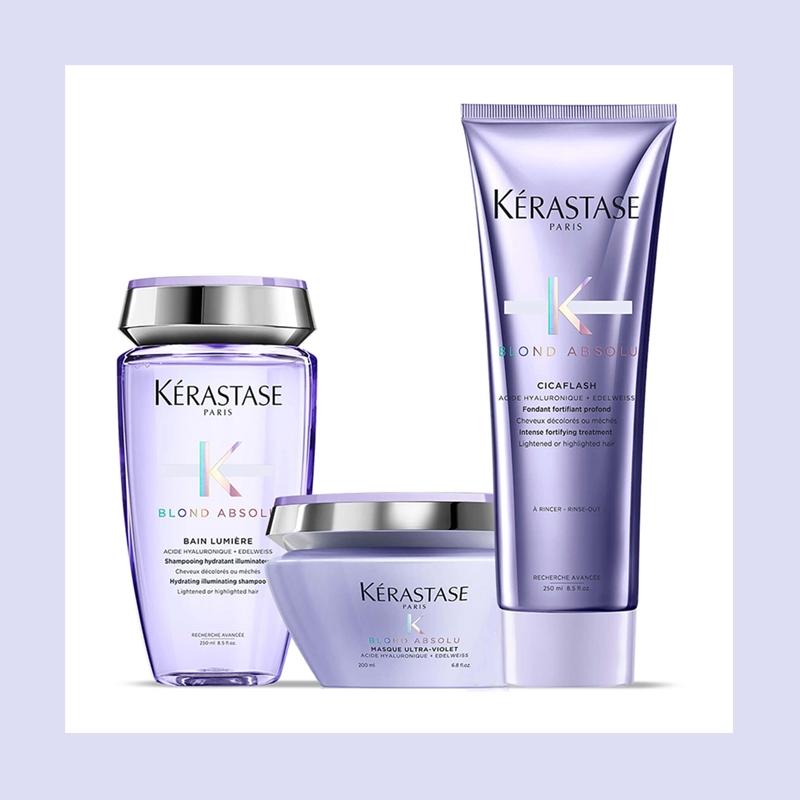 水润修护打造水光发质!Kérastase 卡诗玻尿酸水光洗发护发套装