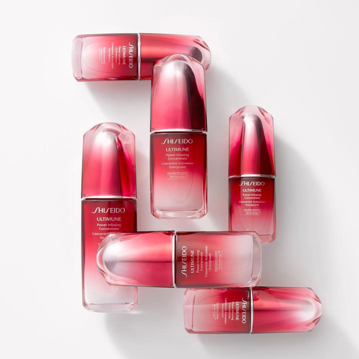 疑似霸哥定价!Shiseido Ultimune 资生堂红研肌底液/红腰子