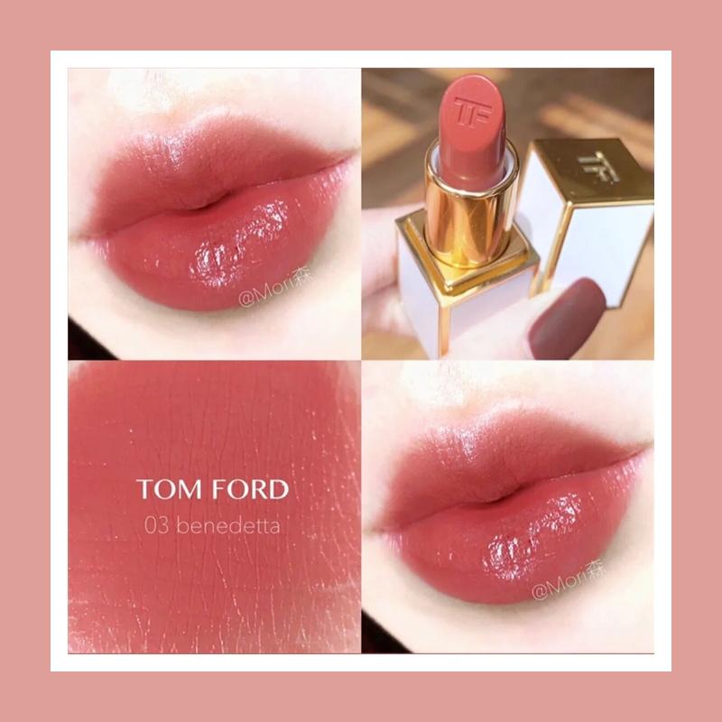 令人心动的蜜桃女孩! Tom Ford 白管唇膏 Benedetta