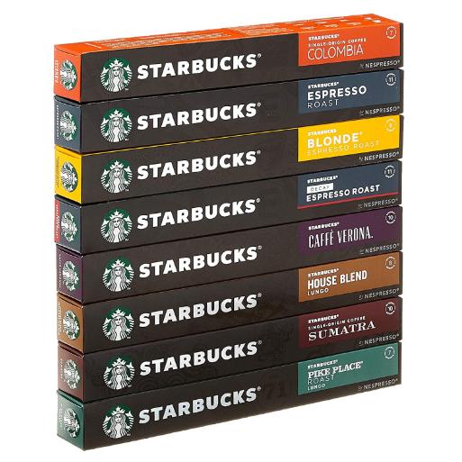 NESPRESSO STARBUCKS 咖啡胶囊尝新套装