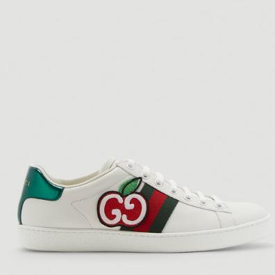 「时尚咖」从脚养成!GUCCI苹果小白鞋、老爹鞋
