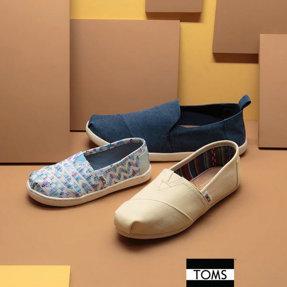 舒适度爆表的Toms 男女儿童纯棉布鞋拖鞋凉鞋