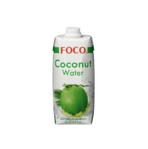 别再喝肥宅水啦!FOCO Kokosnusswasser 纯天然椰子水 12 x 500 ml