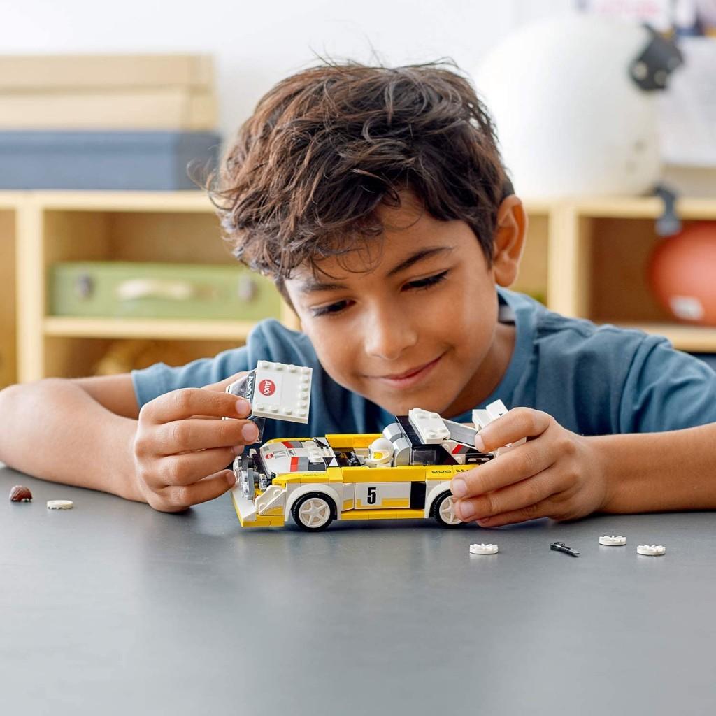 LEGO乐高76897奥迪1985S1赛车