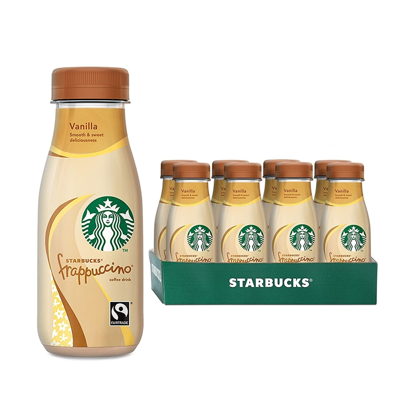 在家也可以享受到星巴克!Starbucks 星巴克法布奇诺星冰乐香草味