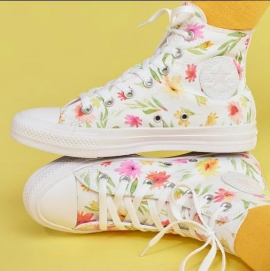 快来寻找属于你的帆布鞋!Converse匡威私人定制专区