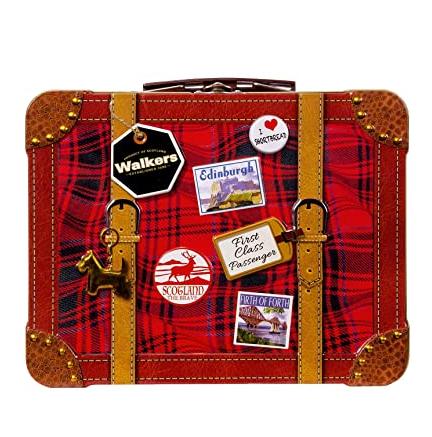 老牌苏格兰黄油饼干 Walkers shotbreads 迷你旅行箱盒装