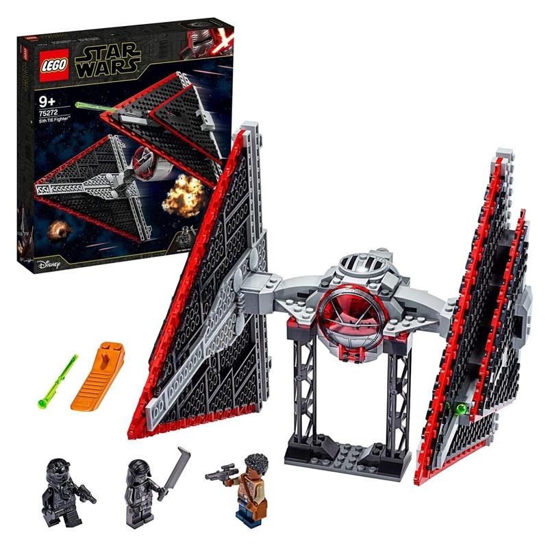 大人小孩子都爱!LEGO 星球大战西斯钛战机套装