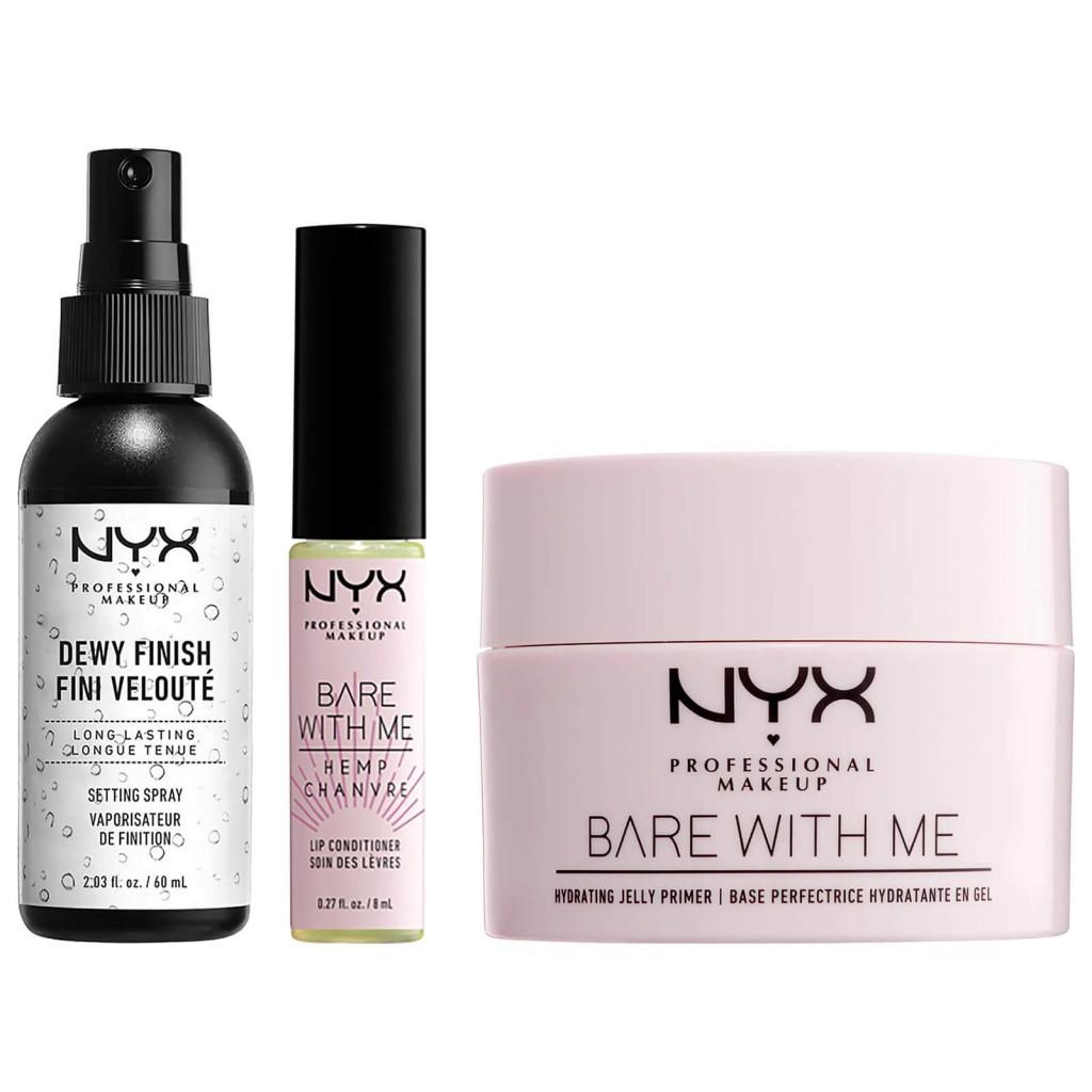 妆容平整无暇!NYX Professional Me Bare Me 保湿妆前套装