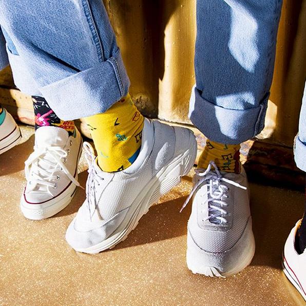 活泼保暖不冻Jio!Happy Socks 让你又潮又有趣