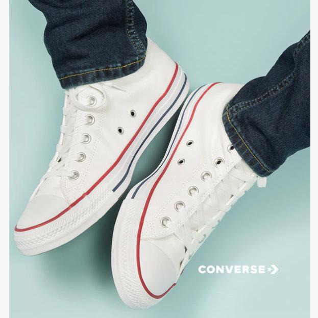 万能百搭的舒适Converse鞋履服饰