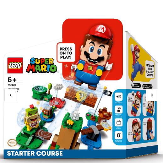 能说会笑的乐高马里奥!LEGO Super Mario新手套装 71360