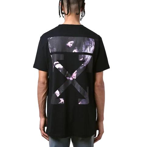 OFF-WHITE 20ss 新款卡拉瓦乔油画T恤