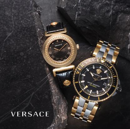 华丽奢侈的古典主义 Versace范思哲男女腕表热卖