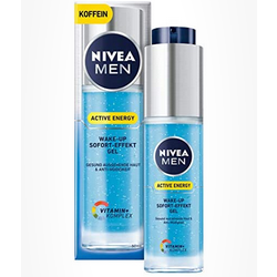 Nivea Men Active Energy Wake Up Sofort-Effekt Gel 妮维雅男士能量焕活凝露 50ml装