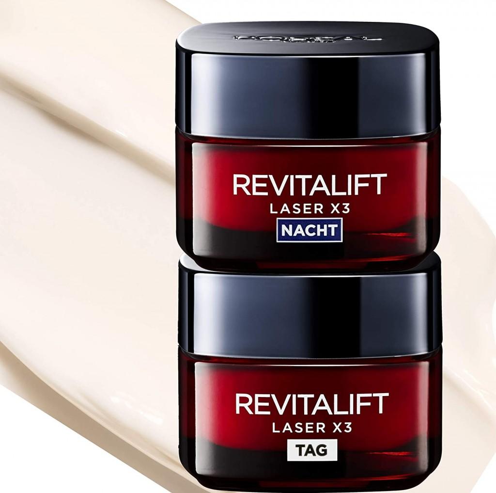 L'Oréal Paris 巴黎欧莱雅Revitalift 活力紧致修护套装日霜+晚霜