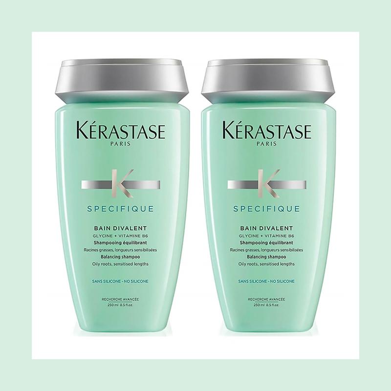 油头少女的福音!Kérastase 卡诗双重功能洗发水两瓶装