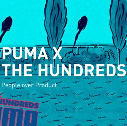 窦靖童亲自演绎 PUMA X THE HUNDREDS 联名款