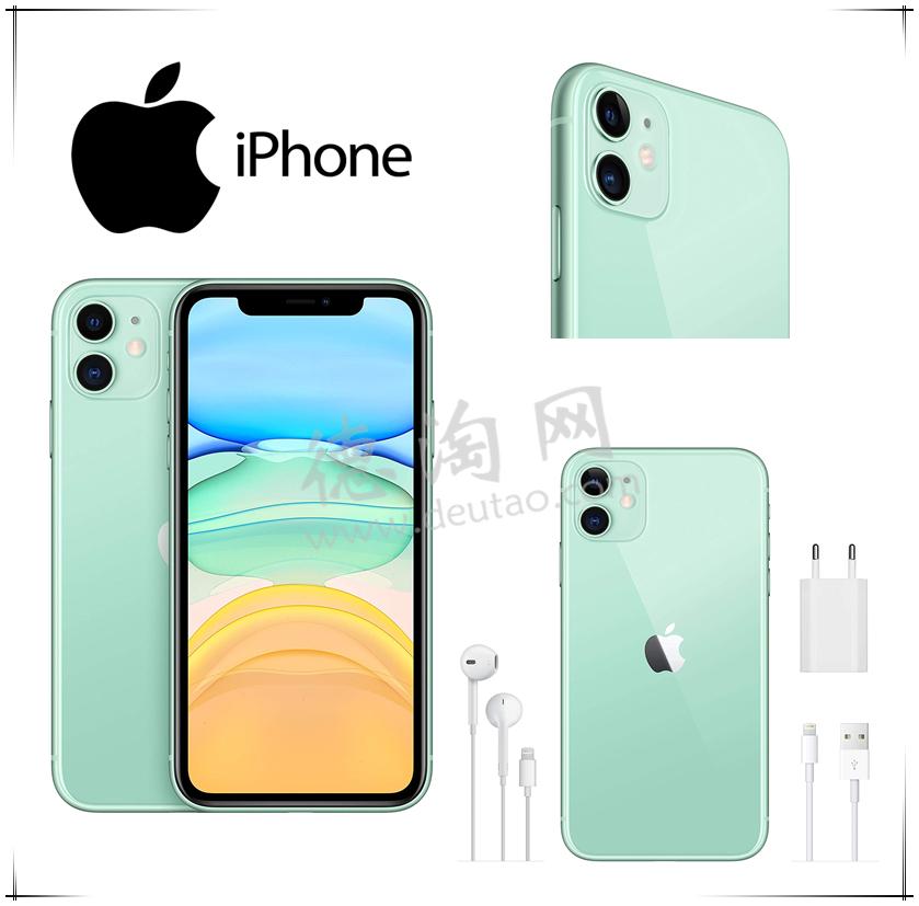 Apple iPhone 11 (128 GB) 击中少女心的马卡龙绿!