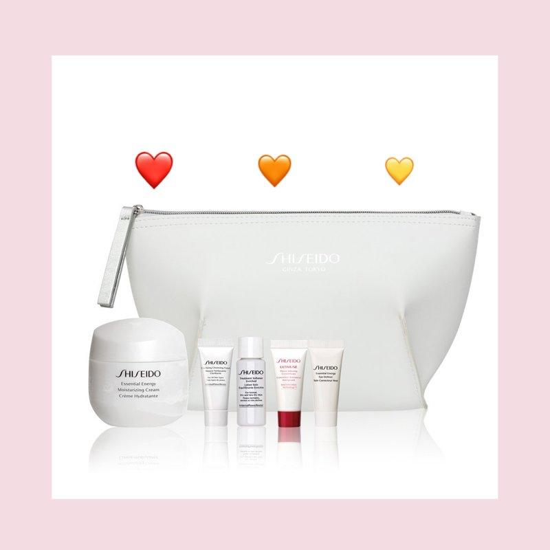 神仙套组!Shiseido/资生堂 鲜润赋活乳霜套组