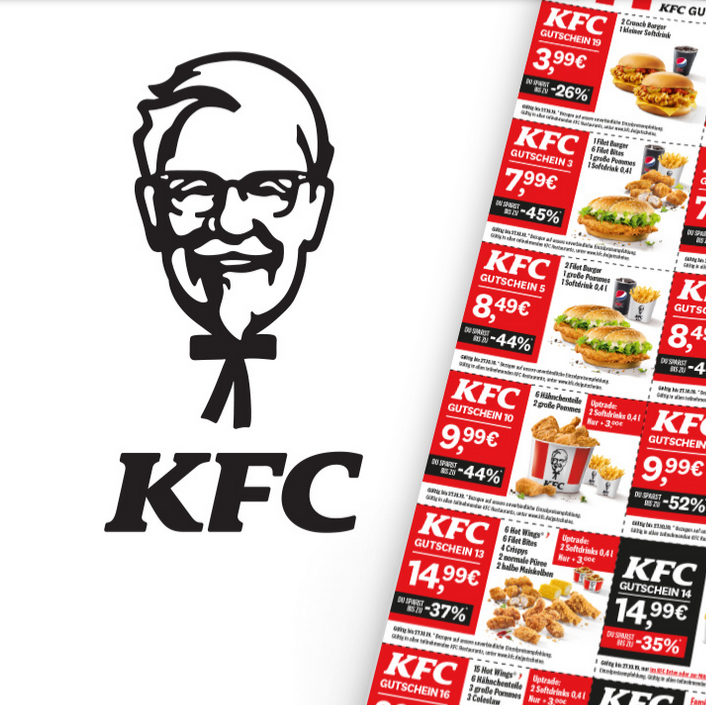 吃货请注意!KFC 肯德基每周推出五个超值套餐活动