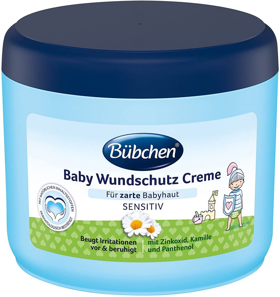 家有宝宝必备 Bübchen Baby Wundschutz Creme 万用屁屁霜