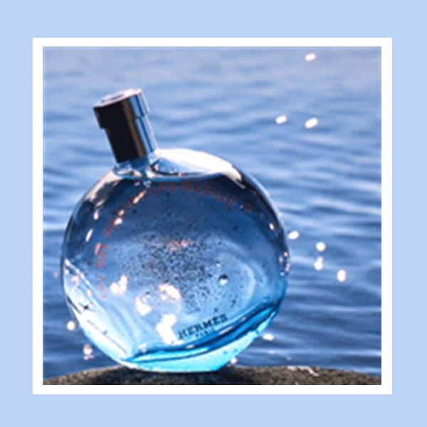 你闻,是海洋的味道! HERMÈS/爱马仕 蓝色橘彩星光