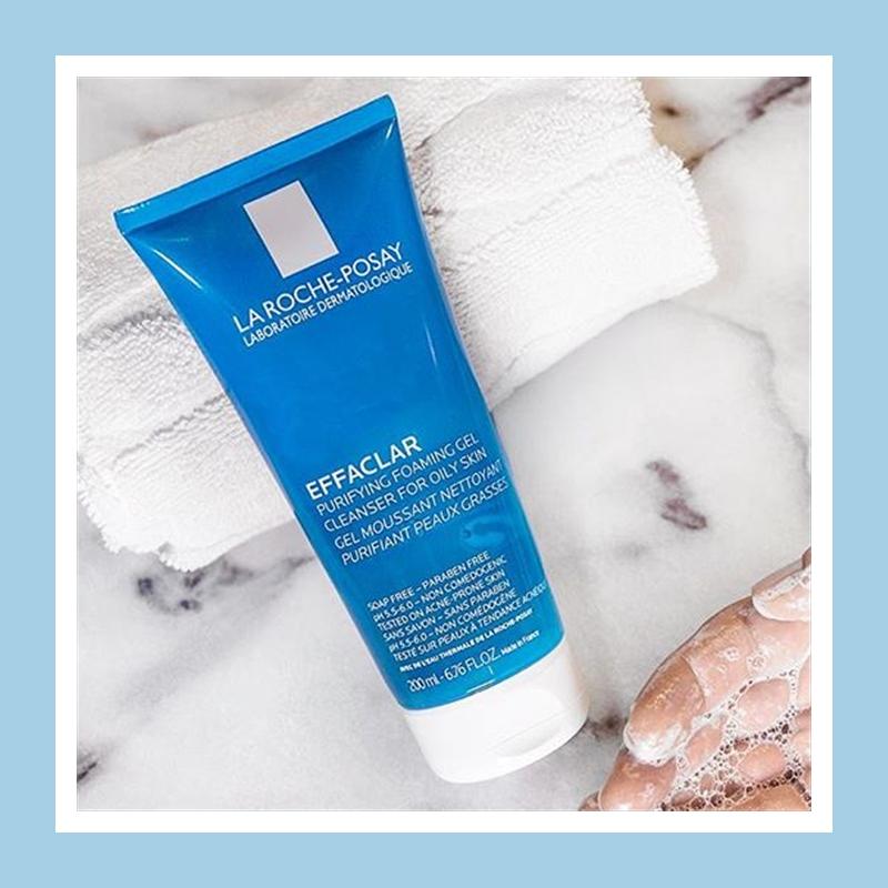 无皂基添加温和清洁控油清痘!La Roche-Posay 理肤泉清痘净肤洁面啫喱