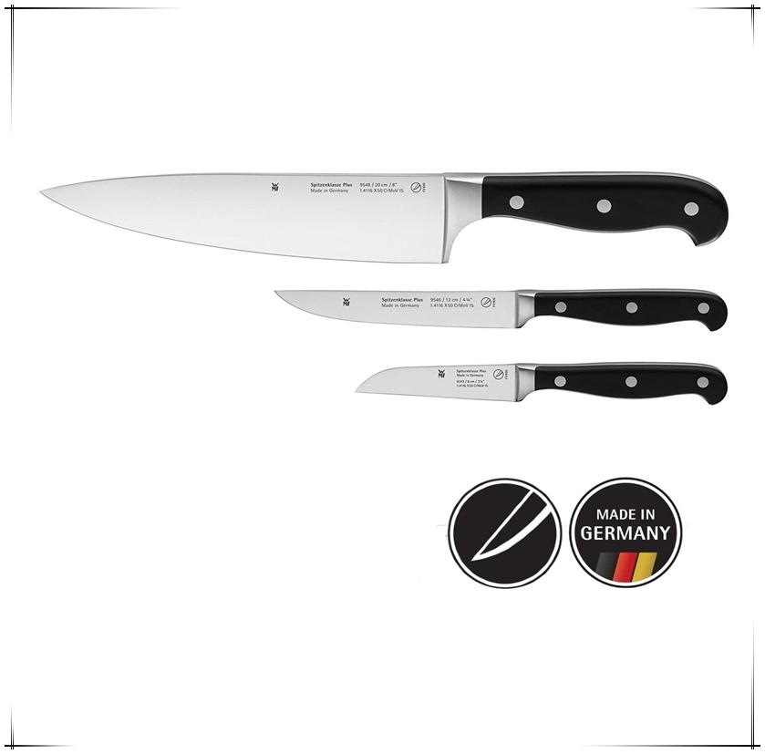 超划算!made in Germany德国制造品质保证 WMF刀具三件套!