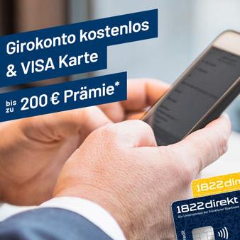 1822direkt银行Girokonto