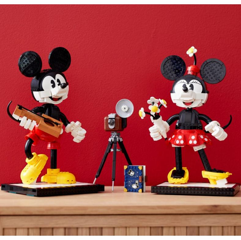 Lego 和迪士尼 90周年合作款 米奇和米妮