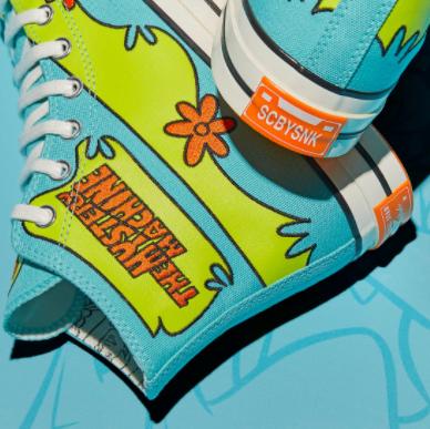 CONVERSE 携手Scooby-Doo 打造全新联名系列