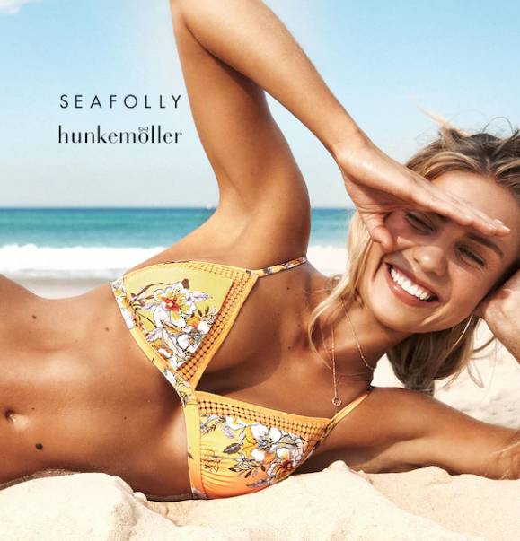 荷兰人气内衣品牌Hunkemöller泳装内衣特惠,快乐奔向夏天吧。