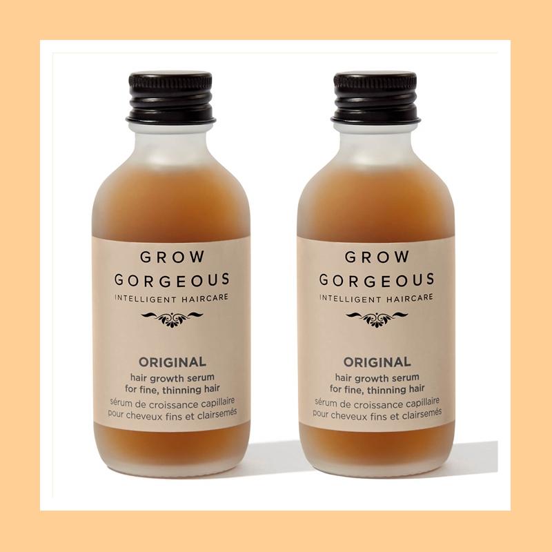 海藻般的长发不是梦!Grow Gorgeous 生发防脱精华 60ml*2瓶装